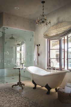 Good lord if I can afford a shower and claw foot tub *drool*