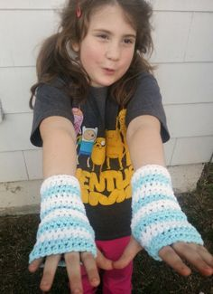 Crazy Simple Kid Sized Wrist Warmers