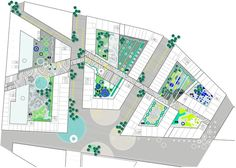 Mailänder Platz, Karlsruhe  Marianne Levinsen Landscape  Arkitekt: Henning…