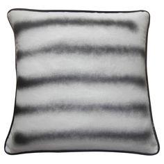 hardtofind.   Aerosol art stripe cushion cover - Hard To Find Monochrome Style