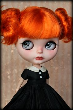 Blythe by Cupcake Curio http://www.flickr.com/photos/lapetitemuse/