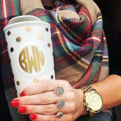 Blanket Scarf and Kendra Scott ring ! :)