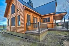Timber Block builds engineered, custom wood homes all over the world, with 3 locations in Quebec. #TimberBlock #customhomes #quebec #quebechomes #quebechomebuilders #homebuildersquebec  #chalet #loghome #logcabin home