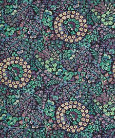 Liberty Art Fabrics Marquess Linen Union in Nightshade Liberty Art Fabrics, Liberty Of London Fabric, Liberty Print, Marquess, Textiles, Floral Illustrations, Ditsy Floral, Novelty Print, Fabric Online