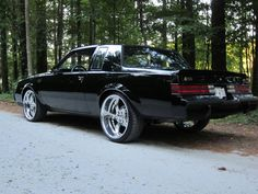 1987 Buick Grand National - Southwest, WI owned by Custom Muscle Cars, Chevy Muscle Cars, Custom Cars, Buick Grand National Gnx, 1987 Buick Grand National, Donk Cars, Buick Regal, American Muscle Cars, Sexy Cars
