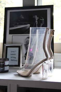 http://allyouneedisstyle.com/ #shoes #heels #boots #perspex #clear #peeptoe