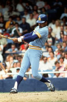 Ruppert Jones - Seattle Mariners.   The year was 1977 and the Seattle Mariners were born.   This was my favorite player the first couple seasons.