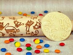 Rolling Pin, Games For Kids, Christmas Cookies, Color Change, House Warming, Sprinkles, Kitchen Decor, Make It Yourself, Cat
