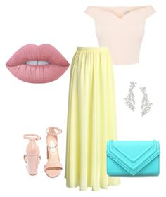 """""""Sin título #11"""" by loraine-parroquin on Polyvore featuring moda, Chicwish, Steve Madden, Lime Crime y Kate Spade"""