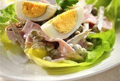 Przystawka z jajkami / Appetizer with Eggs to smaczna propozycja na urozmaicenie wielkanocnego menu. Przygotowuje się ją szybko, i równie szybko znika ze stołu:)