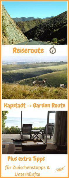 Optimierte Reiseroute für 2 Wochen Südafrika. Von Kapstadt über die Garden Route bis zum Addo Elephant Nationalpark. Mit Tipps für Unterkünfte in Südafrika.