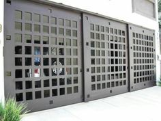 This Is A Cool Garage Door Its Reminiscent Of Pallets