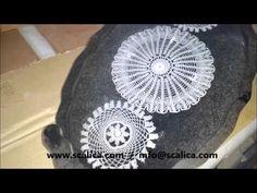 Scalica Epoksi Şeffaf Reçine Sıvı Cam Kaplama - YouTube