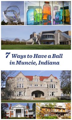 Explore the legacy of the Ball family—whose canning jars revolutionized food preservation— in this college town of 70,000: http://www.midwestliving.com/blog/travel/7-ways-to-have-a-ball-muncie-indiana/