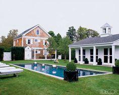 Scott Currie's Hamptons home in Elle Decor.
