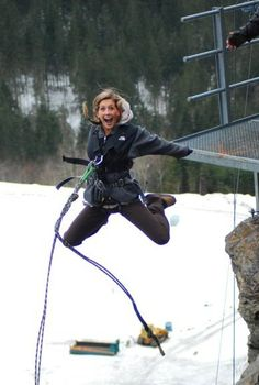 canyon jumping in Switzerland, inspired by meaghan. add it to the bucket list!!