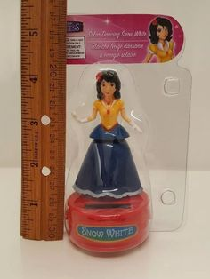 Snow White Solar Dancing Princess Disney Seven Dwarfs Bobblehead Dancer Stocking #Disney