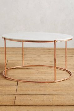 12 Round Coffee Tables We Love #theeverygirl