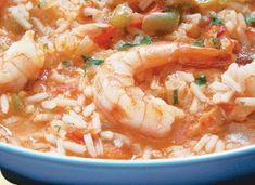 Asopao de Camarones (Shrimp Gumbo ~ Puerto Rican Style) ~ http://www.elcolmadito.com/USRecetasDetail.asp?Numero=493
