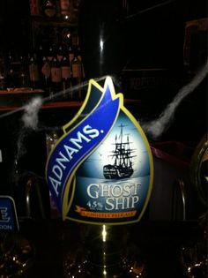 The Mitre @mitrelancasterg    @adnams ghost ship on for Halloween with added cobwebs for effect.