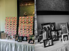 photo table The Inn at Lambertville Station Wedding: Jen and Randy » Isabel March Photography | The Blog |