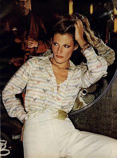 Vogue Womens Editorial New York Spring Collections, February 1974 Shot #5. #70'sfashion #feminine