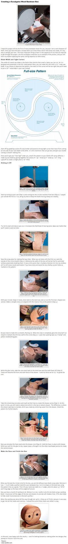 Creating a Eucalyptus Wood Bandsaw Box