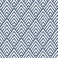 Hadley Blue Geometric Mica Wallpaper | Departments | DIY at B&Q
