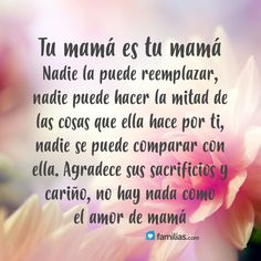 Yo amo a mi familia www.familias.com #amoamifamilia #matrimonio #sermamá #bebé #hermanos #hijos #amor #familia #frases My Children Quotes, Son Quotes, Life Quotes, Spanish Inspirational Quotes, Spanish Quotes, Mother Daughter Quotes, Mother Quotes, I Love Mom, Mothers Love