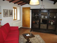 Living room Casetta di Zano