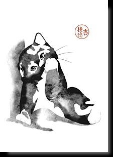 Cartes postales d'art félines Cat Drawing, Line Drawing, Ragdoll Cattery, Ragdoll Kittens, Kittens Cutest, Cute Cats, Chats Image, Animal Sketches, Cat Names
