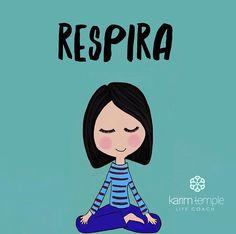 La respiración nos da cierta tranquilidad que tanto necesitamos en ciertos momentos...