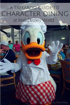 Trekaroo's Insider Guide to Character Dining at Walt Disney World. Want more details on Disney dining? Check out Couponing to Disney!
