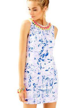 b225b959e8b803 Mila Shift Dress In Rock The Dock: $198 Dress Bra, Knit Dress, Lilac
