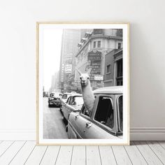 Llama in a taxi on Times Square Canvas Print and Poster Vintage llama Print New York City Photo Picture Wall Art Home Decor - TrendStyleNow Wall Art Pictures, Canvas Pictures, Print Pictures, Painted Ladies, In China, Times Square, Retro Poster, Vintage Posters, Vintage Wall Art