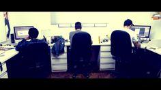 :job em andamento: #2ellisComunicação #equipe #trabalho