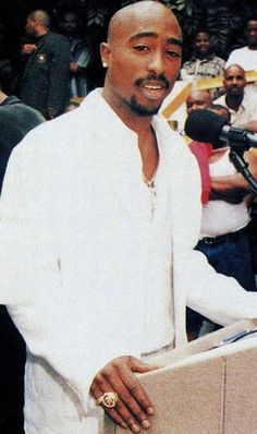"""makaveli-soldier: """" Speech that Tupac gave at the Brotherhood Crusade Rally shortly before he was murdered that was filmed but strangely is never shown on tv or in documentaries, films etc. In the..."""
