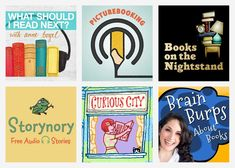 Press Play: 8 of the Best Kids' Lit Podcasts (and a Few for Grown-Ups Too) Teacher Librarian, Teacher Stuff, Good Books, Books To Read, Online Fun, Mind Over Matter, Reading Rainbow, Programming For Kids, Kids Lighting