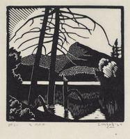 Holgate, Paysage des Laurentides, 1924 - MBAC