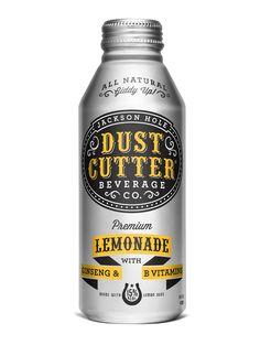 Dust Cutter Natural Premium Lemonade   #packaging #bottledesign #lemonade