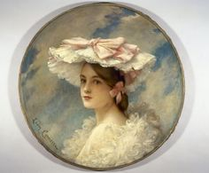 La charlotte d'Alphonsine, En 1905, Comerre, Léon-François (Trélon, 10–10–1850 - Le Vésinet, 20–02–1916), peintre   Paris Musées