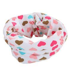 2017 New Spring Autumn star baby scarf 40*20cm kids child cotton scarves boys girl O Ring scarf children collar child neck scarf