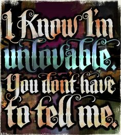 Unlovable is the font that isn't a font. At least it doesn't look like one. The letters have been carefully designed to flow together and interact with each other so well that your customers will probably think you created their design by hand.