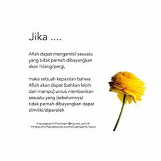 """Konsep """"Jika"""" """"Maka"""" Muslim Quotes, Islamic Quotes, Best Quotes, Life Quotes, Running Quotes, Self Reminder, Quotes Indonesia, Self Motivation, Doa"""