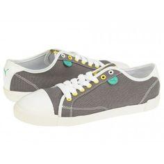 Tenisi dama Puma Elki steel gray-white-aurora-atlantis Atlantis, Aurora, Steel, Gray, Sneakers, Sports, Fashion, Tennis, Ash
