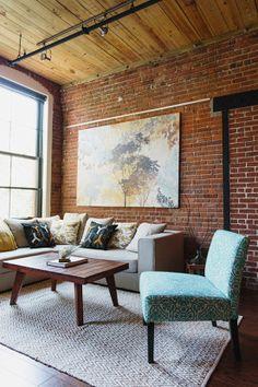 living room - Jute Chenille Herringbone Rug from west elm