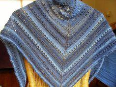 No-fuss shade-loving shawl - pattern by Susan Ashcroft