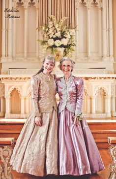 Mothers Our Wedding ~ Official Portraits! Feminine Fashion, Feminine Style, Beautiful Clothes, Beautiful Outfits, Victorian Era Fashion, Elegant Ball Gowns, Planning Board, Bridesmaid Dresses, Wedding Dresses