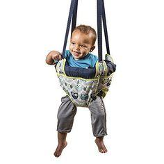 Baby Door Jumper Owl Bouncer Doorway Swing Jump Up Seat Exercise Toddler Infant  #Evenflo