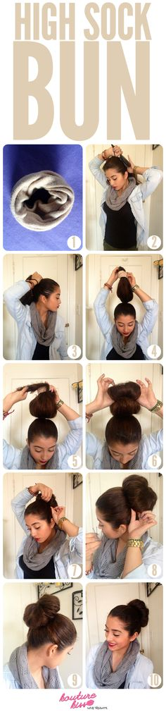 High Gorgeous Sock Bun - Kouturekiss - Your One Stop Everything Beauty Spot - kouturekiss.com